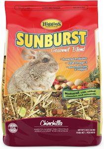 Higgins Sunburst Gourmet mix Chinchilla food